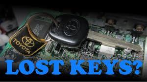 lexus key got wet diy immobilizer hacking youtube