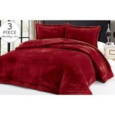 Maroon Comforter Jcp Hometex Inc 3 Piece Full Queen Comforter Set U0026 Reviews Wayfair