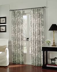 hampton toile pinch pleat window curtain panel curtainworks com