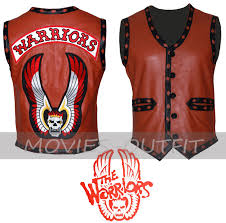 Halloween Movie T Shirt by The Warriors Movie Halloween Costume Motorbiker Leather Vest In
