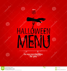 halloween graphics free halloween restaurant menu royalty free stock photography image