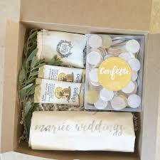 wedding planners bay area customized client signing gift by box and bow for san francisco