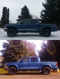 93 dodge dakota lift kit before and after pics leveling kit dodge dakota forum custom