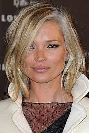 grey streaks in hair kate moss dyed her hair with gray streaks kate moss grey