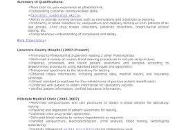 resume phlebotomy resume gratify u201a noticeable phlebotomy
