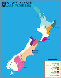 Paso Robles Winery Map Wine Map New Zealand Wine Map Newzealand Wine The Story Of