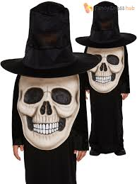 Boys Skeleton Halloween Costume Childs Skull Jumbo Face Costume Boys Halloween Skeleton Fancy