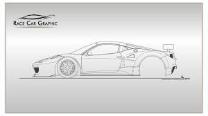 ferrari enzo sketch how to draw a ferrari 458 italia gt2 youtube