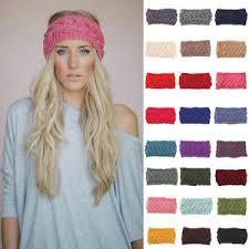 ear warmer headband fashion women crochet headband knit flower hairband ear warmer
