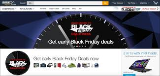 when does amazon black friday starts black friday 2016 retail technology blog