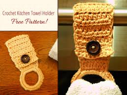 pattern crochet towel holder crochet towel holder