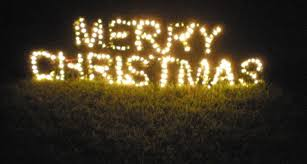 details large lighted merry sign outdoor yard display