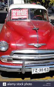 santiago chile providencia avenida rancagua car 1950s chevrolet