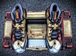 nike lebron x ironman 3 customs for lebron by mache
