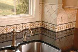 kitchen wallpaper borders ideas 4 things to about kitchen tile design