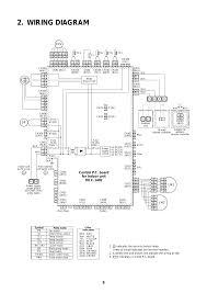 wiring diagram control p c board for indoor unit mcc 1402