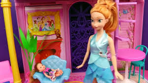 frozen anna gets frozen powers dream elsa barbie spiderman and