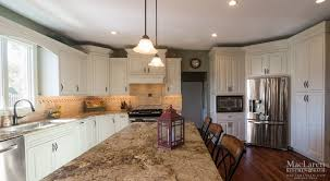 Granite Island Kitchen Custom Granite Countertops Maclaren Kitchen And Bath