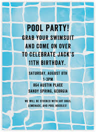 pool party invitations pool party invitations online at paperless post