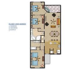3 Bedroom Floor Plans Our Resorts On Beautiful Hilton Head Island