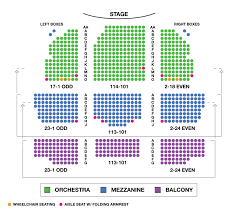 Chicago Theater Map by Lyceum Theatre Broadway Seating Charts