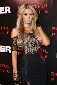 paris hilton at paper magazine beautiful people issue release