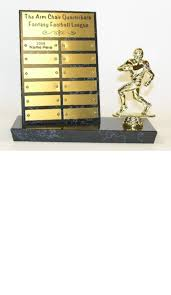 Fantasy Football Armchair Quarterback Trophy Fantasy Football League Trophies U2014 Fantasy Football League