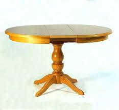 table ronde cuisine pied central table ronde de salle a manger avec rallonge table de cuisine en bois