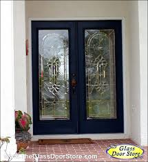 Exterior Glass Door Inserts Glass Insert For Front Door Traditional And Classic Front Entry