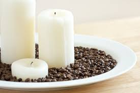 bean candle centerpiece get inspired everyday