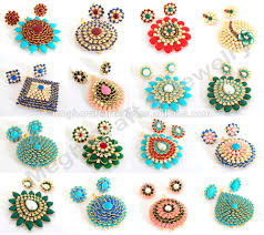 pachi earrings indian traditional handmade pearl dangle earrings wholesale pachhi