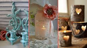 rustic u0026 shabby chic candle holder decor ideas interior