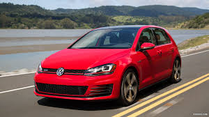 red volkswagen golf 2015 volkswagen golf gti mk7 us spec front hd wallpaper 1