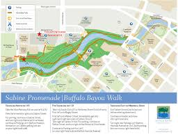 Map Buffalo Second Saturday Boat Ridebuffalo Bayou Partnership
