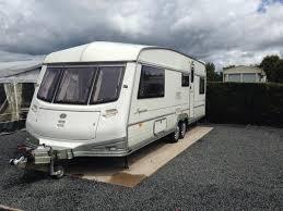 5 Berth Caravan With Awning 1996 4 5 Berth Abi Award Superstar Caravan Full Awning And