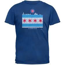Chicaho Flag Chicago Flag Cubs T Shirt Chicago Tribune Store