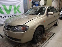 nissan almera n16 xenon autovahinkokeskus radio soitin nissan almera 21w0123400