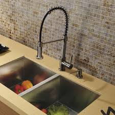 kitchen faucets stainless steel pull out this vigo stainless steel pull out kitchen faucet is a beautiful