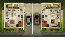 duplex house designs floor plans ridges house and lot for sale a luxury duplex in banawa cebu city