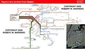 Bronx Bus Map R369346