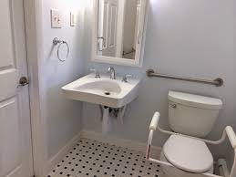 ada compliant bathroom for all ada vanity ada grab bars ada urinal