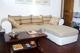 How To Slipcover A Sectional Making A Slipcover For A Sectional