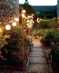 Backyard Solar Lighting Ideas Backyard Lights S Outside Solar Lights Lowes Backyard Lighting