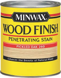 Sikkens Cetol Interior Stain Minwax 70042 Interior Wood Stain Pickled Oak 1 Qt Ebay