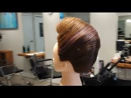 hairstyles to do on manikin mannequin makeovers exaggerated french roll updo youtube