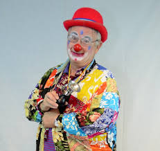 rent a clown for a birthday party finger print clown rental flower entertainment