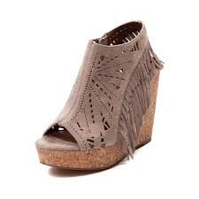 spice up your boho chic style with the new fringe wedge from