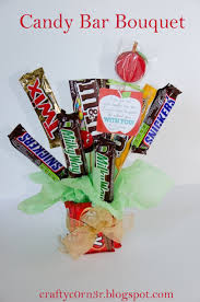 candy bar bouquet craftyc0rn3r candy bar bouquet