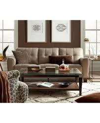 brown leather sofa and loveseat kaleb tufted leather loveseat created for macy u0027s furniture macy u0027s