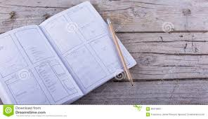 layout sketch paper sketch app stock photo image 65476657